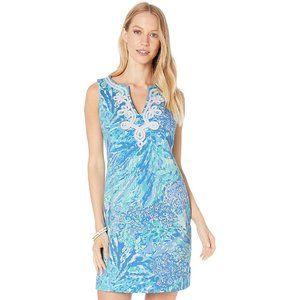NWT LILLY PULITZER Harper Shift Dress Blue Haven